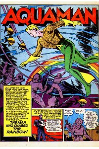 More Fun #88 Aquaman Splash Page